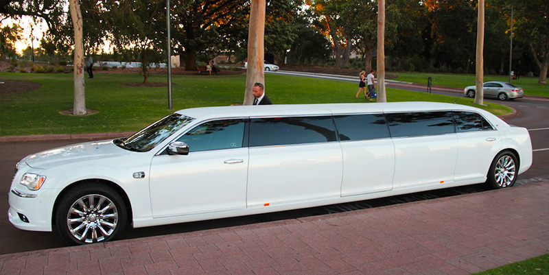chrysler limousine Perth tours