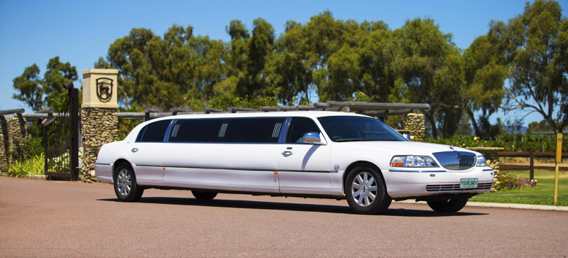 Lincoln limousine Perth tours